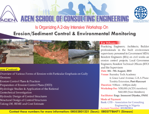 Erosion/Sediment Control & Environmental Monitoring Training