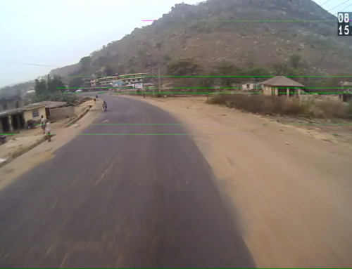 SURECAM VIDEO TELEMATICS CAPTURES ROAD ACCIDENT IN NIGERIA
